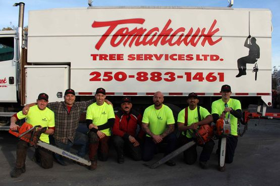 Tomahawk Tree Service Ltd. team